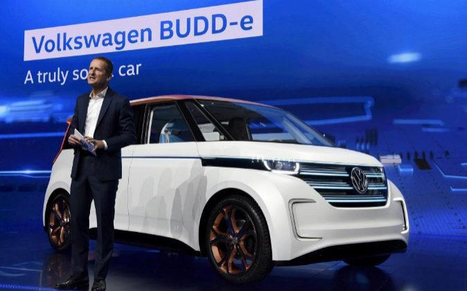 Imagen de archivo de uno de los eventos de Volkswagen en donde se...