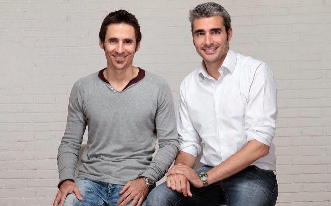 Lucas Carné y José Manuel Villanueva, fundadores y directivos de...