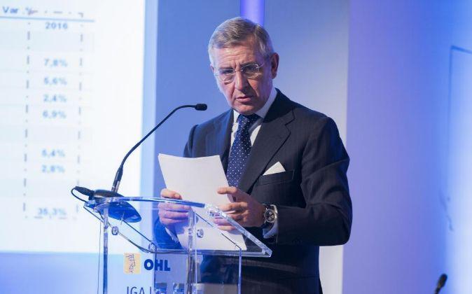Tomás García Madrid, consegero delegado del grupo OHL.