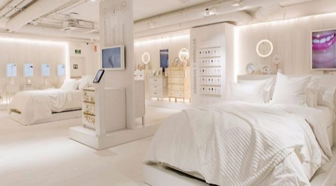 Tienda Ikea Temporary Dormitorio, es una tienda temporal situada en la...