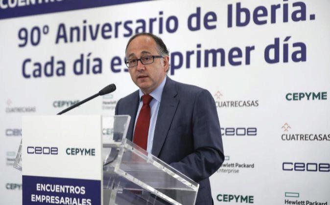 Luis Gallego, presidente ejecutivo de Iberia desde el 1 de enero de...