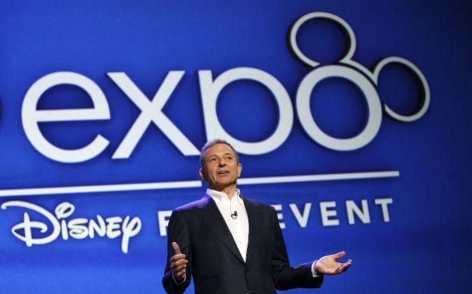 Bob Iger, CEO de Disney, durante un acto.