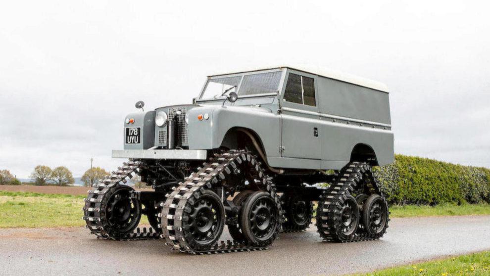 Land Rover Serie II de 1958 de Cuthbertson.