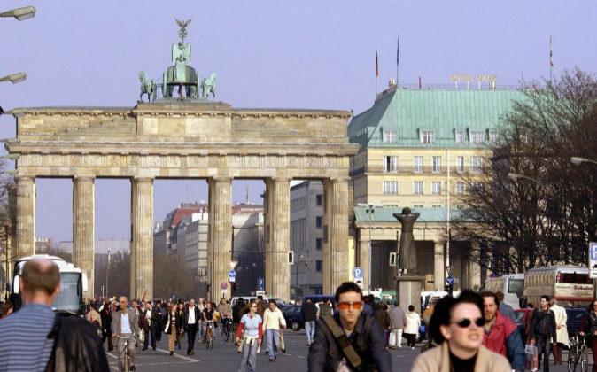 La puerta de Bradembrugo en Berlín.