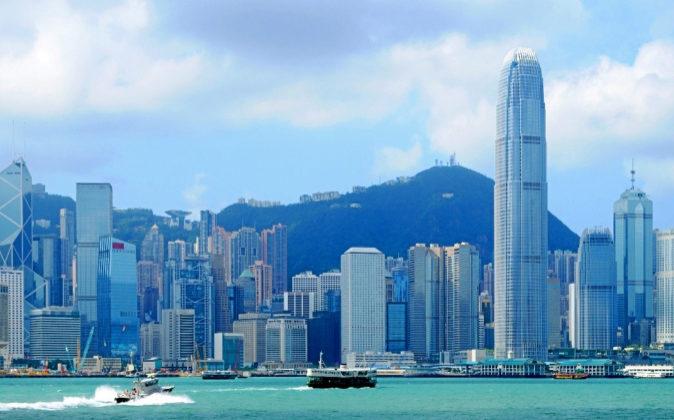 Vista del 'skyline' de Hong Kong, una de las ciudades más...