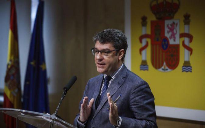 El ministro de Energía, Turismo y Agenda Digital Álvaro Nadal.