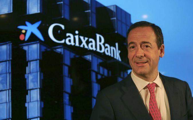 El consejero delegado de CaixaBank Gonzalo Gortázar.