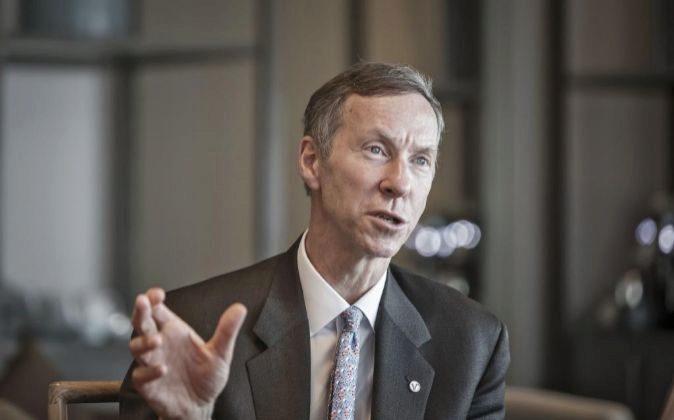 Bill McNabb, directos ejecutivo del grupo Vanguard.