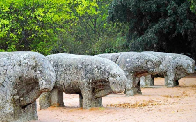 Los toros de Guisando (Ávila), de los siglos II y I a.C., fueron...