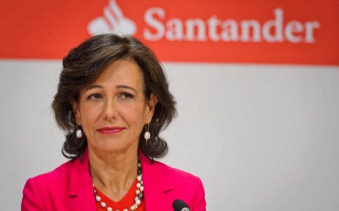 Imagen de archivo de Ana Botín, presidenta de Santander.
