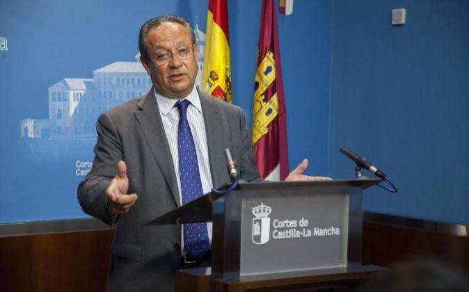 El consejero de Hacienda y Administraciones Públicas, Juan Alfonso...