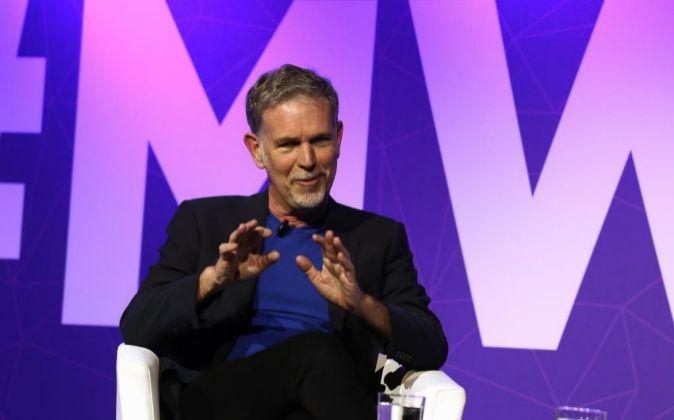Reed Hastings es fundador y consejero delegado de Netflix, así como...