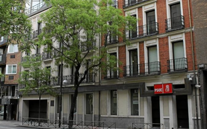 Sede del PSOE (calle Ferraz, Madrid).