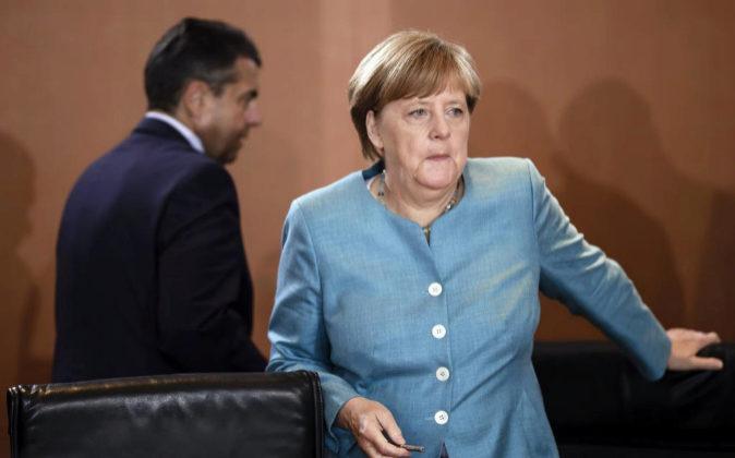 La canciller alemana, Angela Merkel .