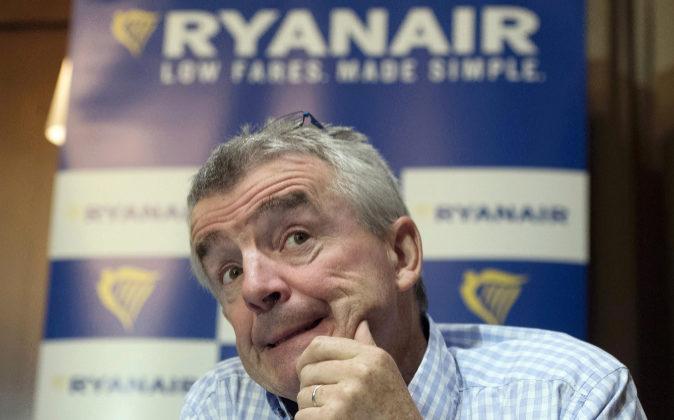 Michael O'Leary, primer ejecutivo de Ryanair.