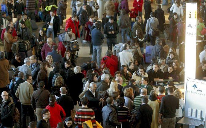 imagen de archivo de la terminal de Valencia.