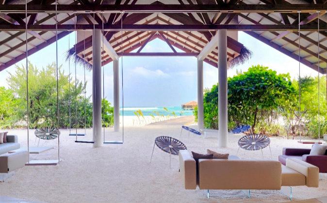 Todos los objetos que decoran Cocoon Maldives han sido diseñados para...