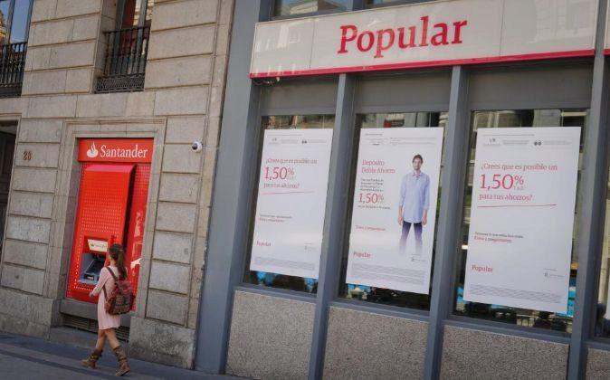 Oficina de Popular en Madrid.