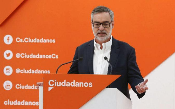 El secretario general de Ciudadanos (Cs), José Manuel Villegas.