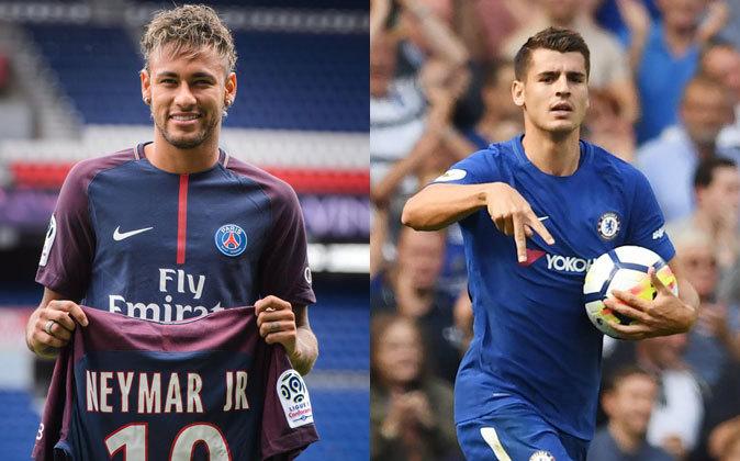 Neymar y Morata, las dos mayores ventas del verano en LaLiga Santander
