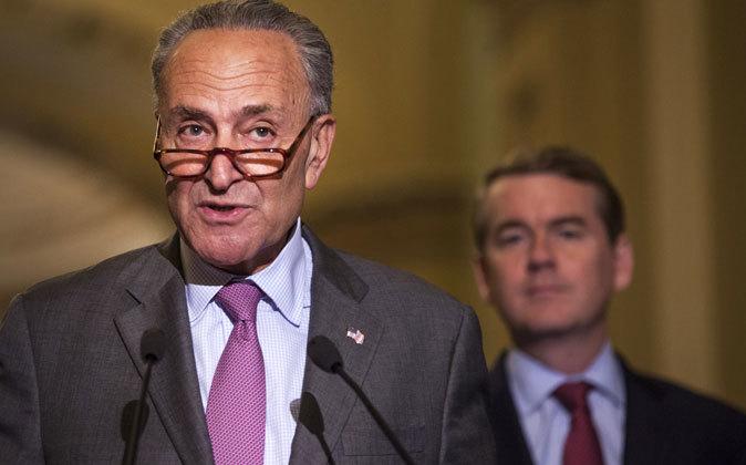 El senador Chuck Schumer.