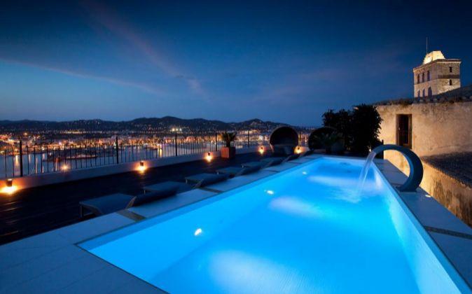 Palacio en Dalt Vila, Ibiza.