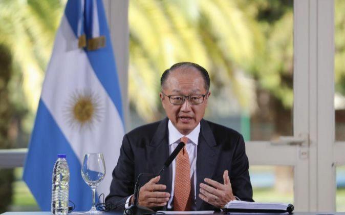 El presidente del Banco Mundial (BM) Jim Yong Kim.