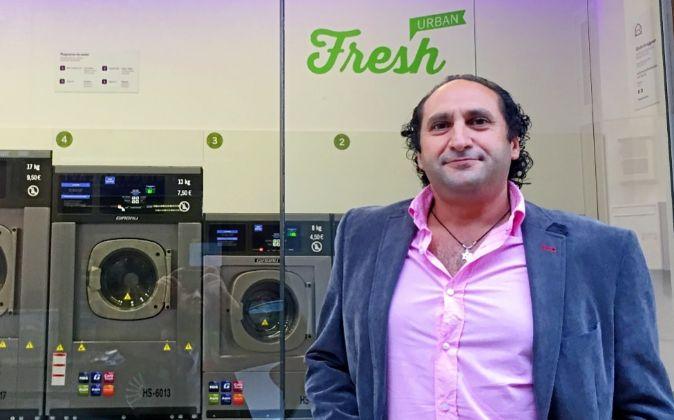 Roberto Haboba, fundador y director general de Fresh Laundry.