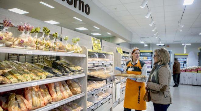 Horno de pan en Mercadona.