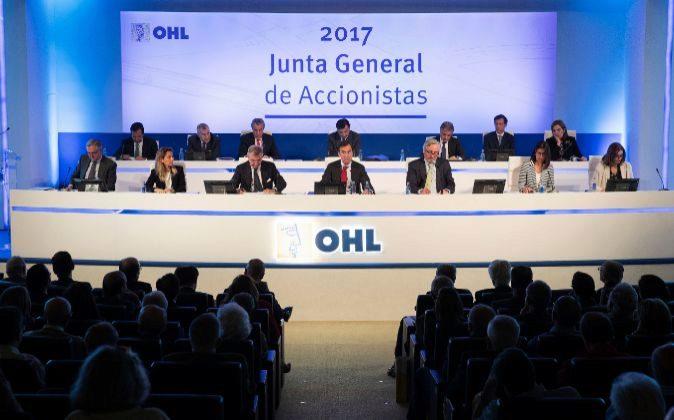 Junta general de accionistas de OHL de este año