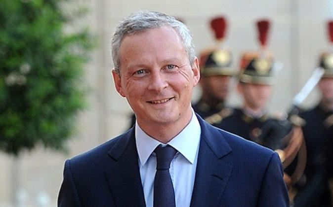 Bruno Le Maire, ministro de Economía y Finanzas de Francia.