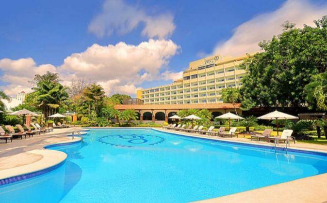 El Hotel Embajador de Barceló en República Dominicana.