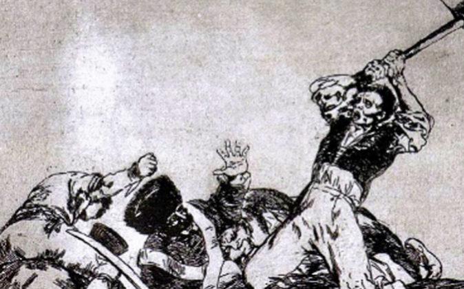 De la serie 'Los desastres de la guerra'