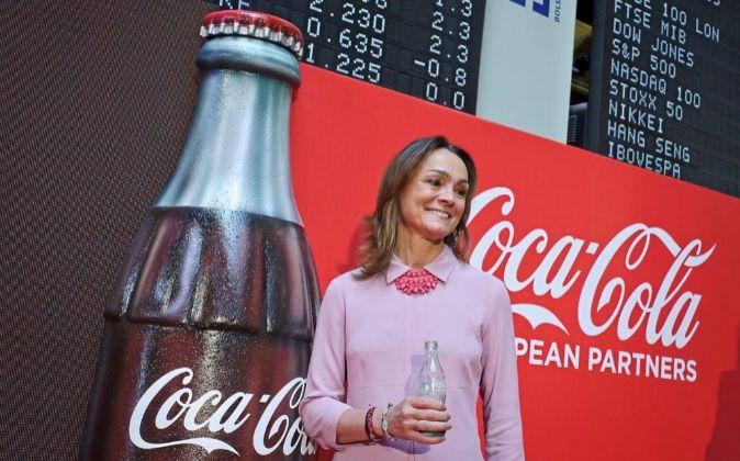 La presidenta de Coca-Cola European Partners, Sol Daurella.