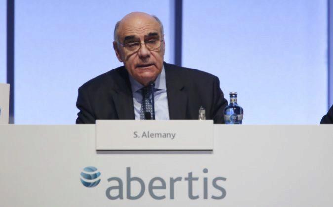 Salvador Alemany, presidente de Abertis