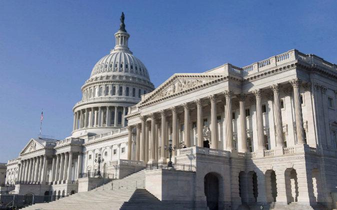Vista del edificio del Capitolio, en Washington (EEUU).