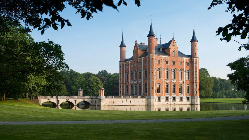 El castillo Kasteel van Olsene.