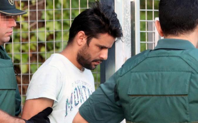 Salah El Karib, uno de los cuatro detenidos en relación con los...