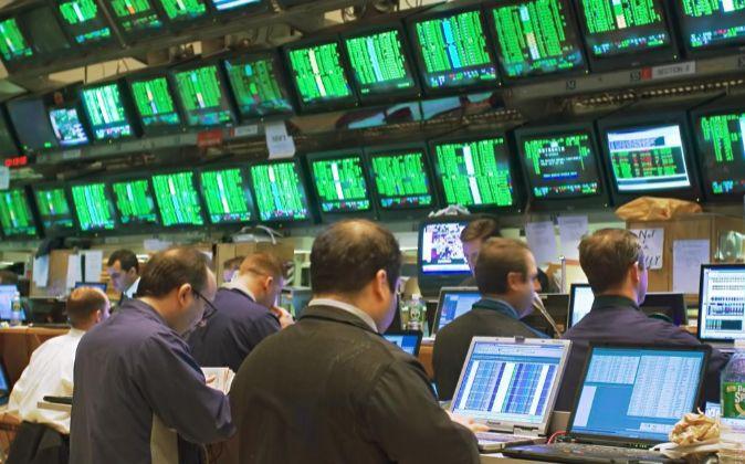 Inversores en la Bolsa de Wall Street.