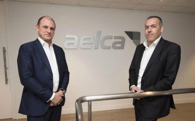 José Juan Martín y Javier Gómez, consejeros delegados de Aelca.