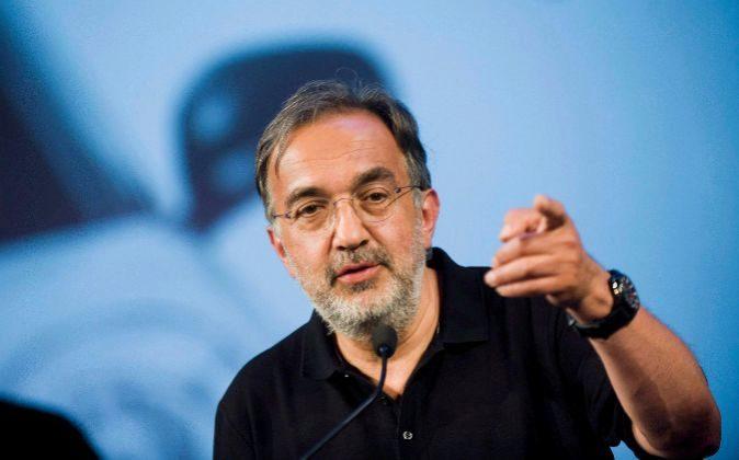 Sergio Marchionne, presidente de FCA.