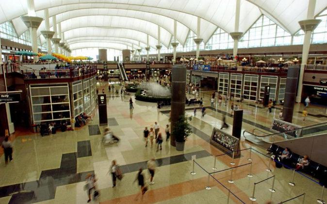 Imagen de archivo del Aeropuerto de Denver.