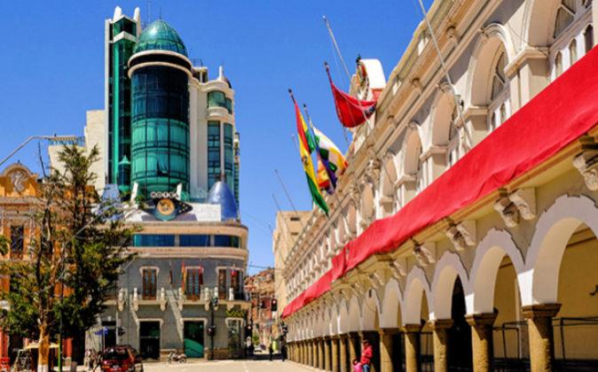 En la imagen, el nuevo Hotel Eden by BlueBay, en Oruro (Bolivia).