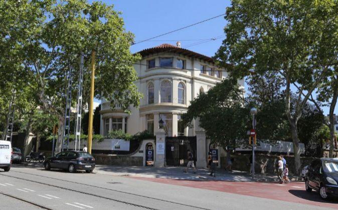 El Hotel Sounique, en la Avenida Tibidabo de Barcelona.