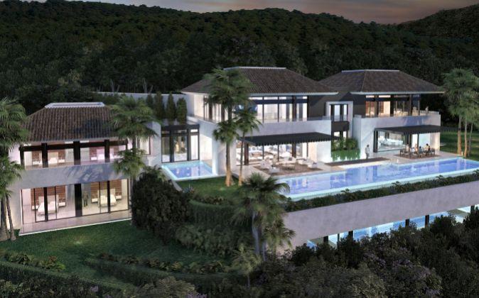 Imagen de una de las viviendas en venta en la urbanización malagueña...