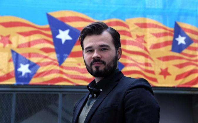 Gabriel Rufián en una imagen de archivo.