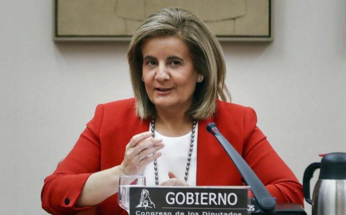 GRA069. MADRID, 29/08/2017.- La ministra de Empleo, Fátima Báñez,...