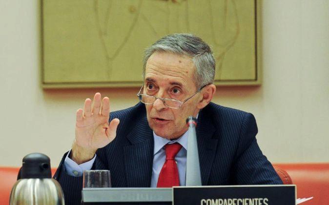 Julio Segura, en su etapa de presidente de la CNMV.