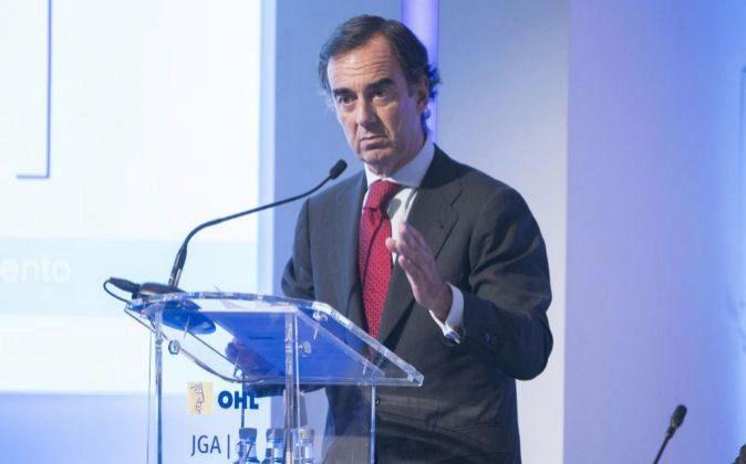 Juan Villar Mir, presidente de OHL.