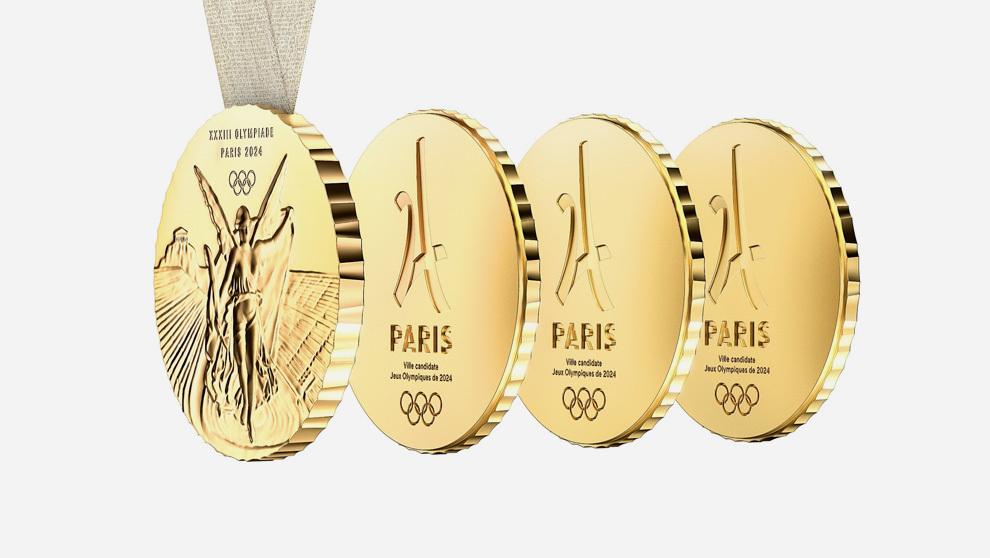 Philippe Starck Disena Las Medallas De Los Juegos Olimpicos De Paris
